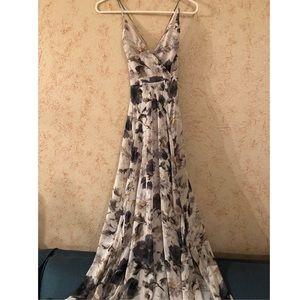 ASTR the label floral Maxi Dress